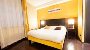 Premium bedding, in-room safe, free cots/infant beds, free WiFi