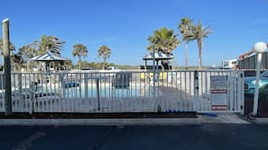 Outdoor pool, open 7:00 AM to 12:30 AM, pool umbrellas, sun loungers