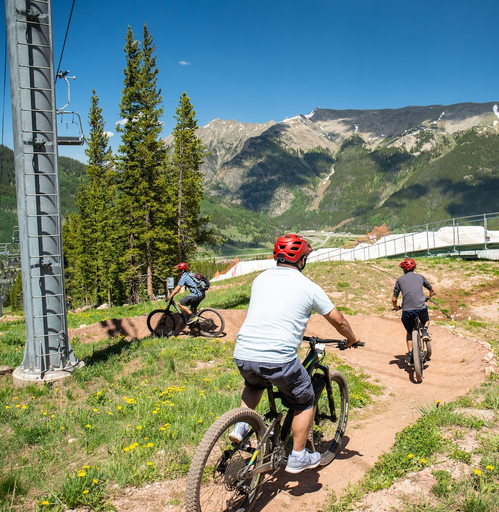 Bicycling, Copper One at Center Village by Copper Mountain Lodging