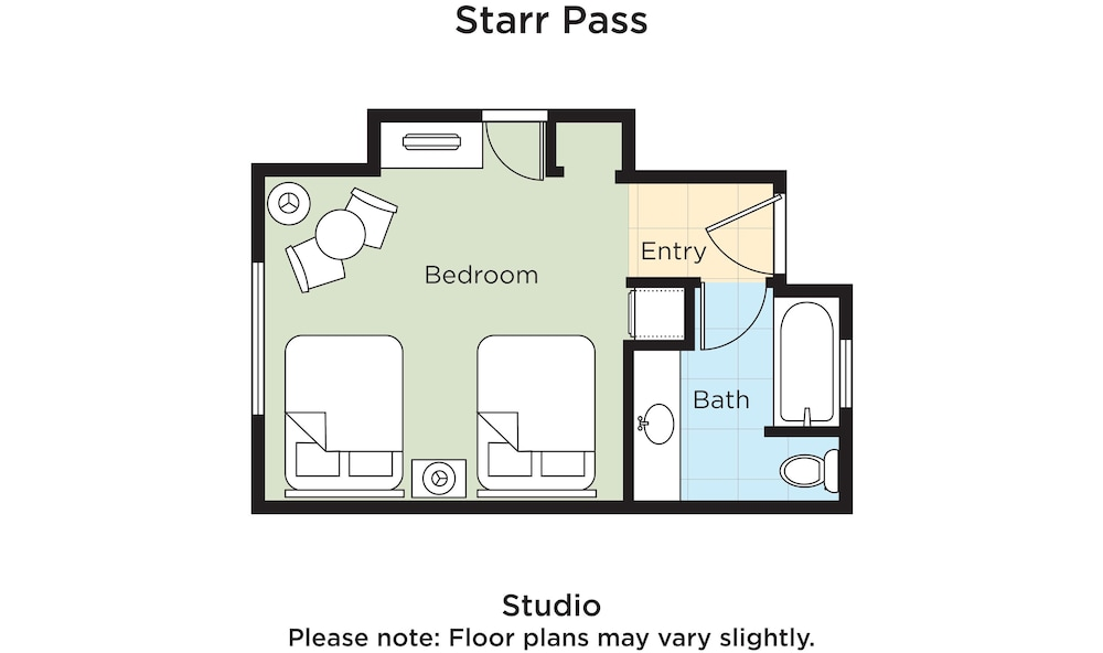 Room, Starr Pass Golf Suites