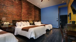 Pillowtop-Betten, Zimmersafe, Bügeleisen/Bügelbrett