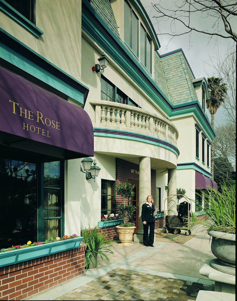 Front of Property, The Rose Hotel