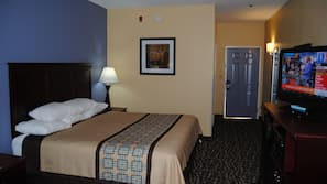 In-room safe, soundproofing, iron/ironing board, cribs/infant beds