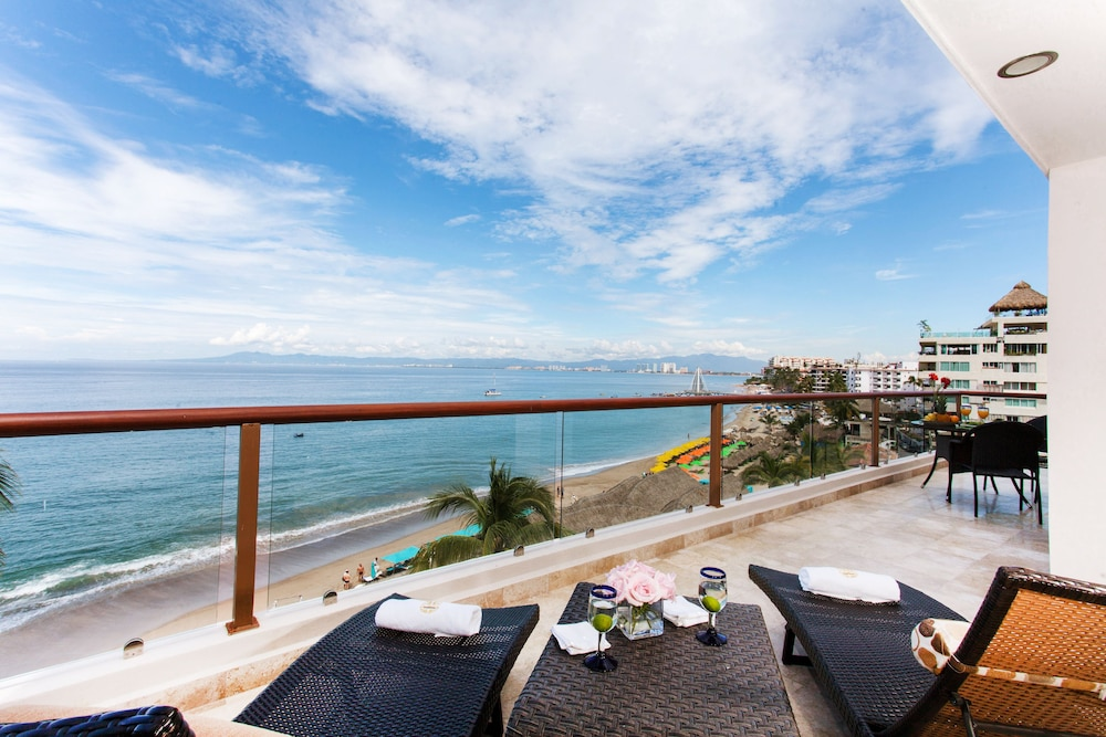 View from Room, Vallarta Shores Beach Hotel