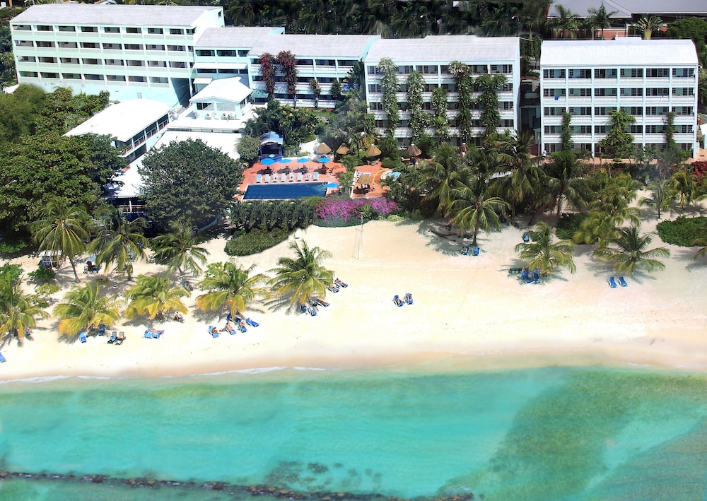 Aerial View, Coconut Court Beach Hotel
