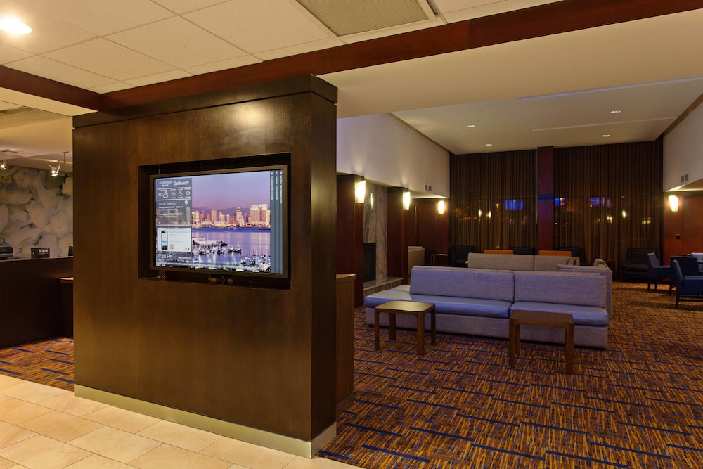 Lobby Lounge, Courtyard by Marriott San Diego Central