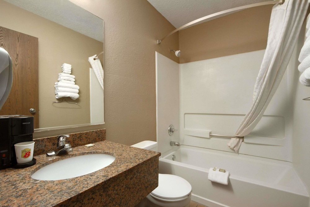 Bathroom, Super 8 by Wyndham Homewood Birmingham Area