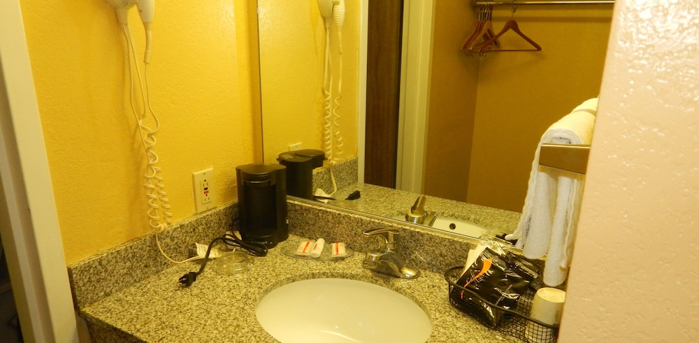 Bathroom Sink, Super 8 by Wyndham Amarillo Central TX