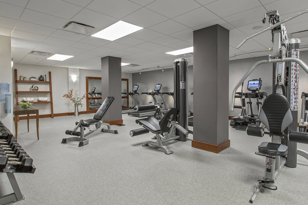 Fitness Facility, Rochester Airport Marriott