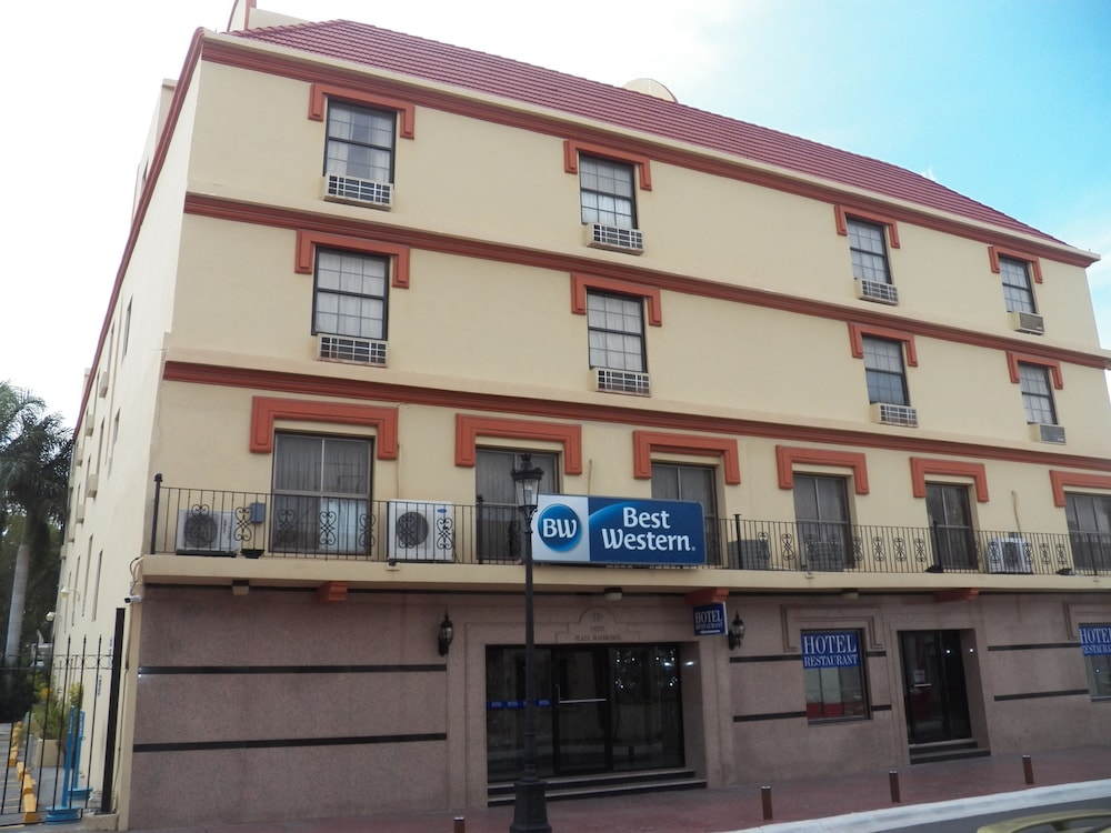 Front of Property, Best Western Hotel Plaza Matamoros