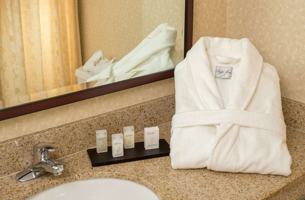 Bathroom, Embassy Suites by Hilton Sacramento - Riverfront Promenade