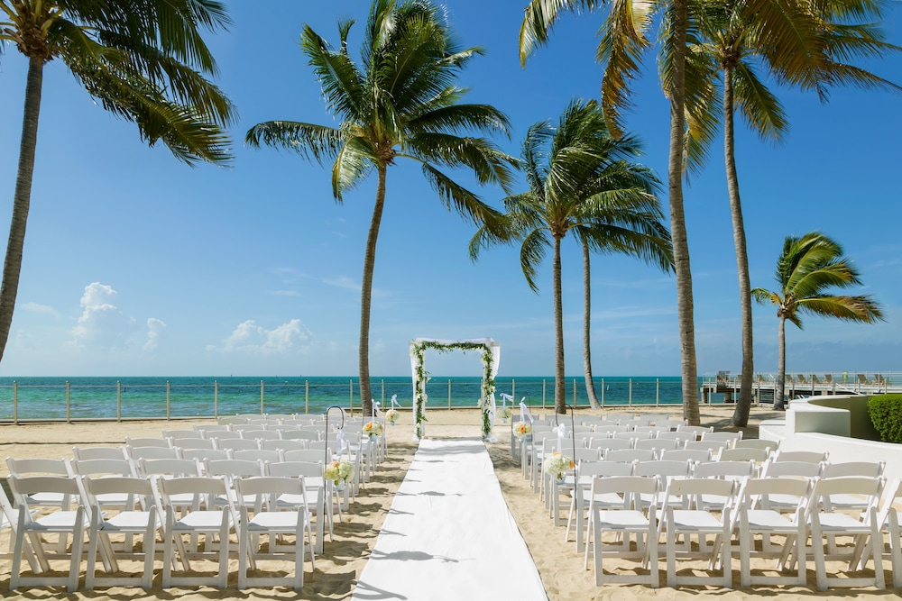 Outdoor Wedding Area, Southernmost Beach Resort