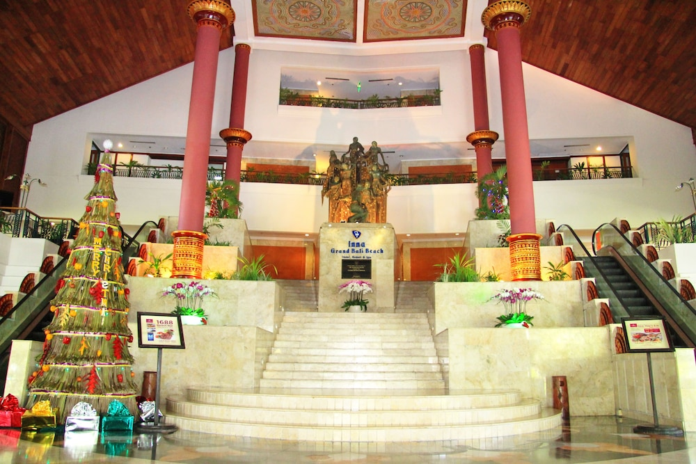 Inna Grand Bali Beach 4 0 Out Of 5 Ocean View Featured Image Lobby