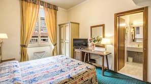 In-room safe, desk, blackout curtains, cots/infant beds