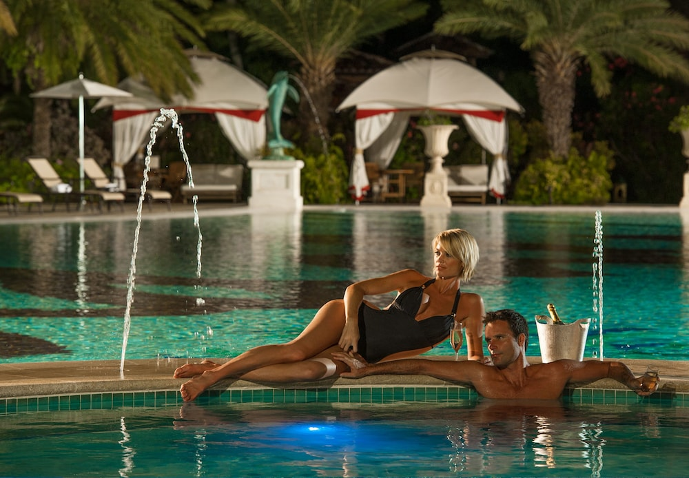 Outdoor Spa Tub, Sandals Grande Antigua - ALL INCLUSIVE Couples Only