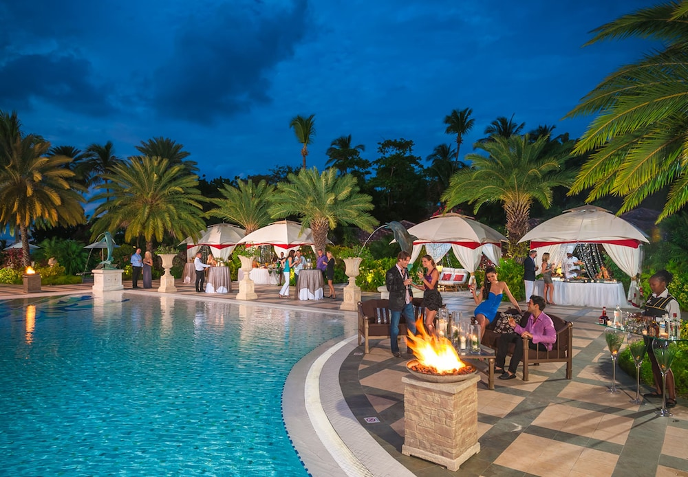 Fireplace, Sandals Grande Antigua - ALL INCLUSIVE Couples Only