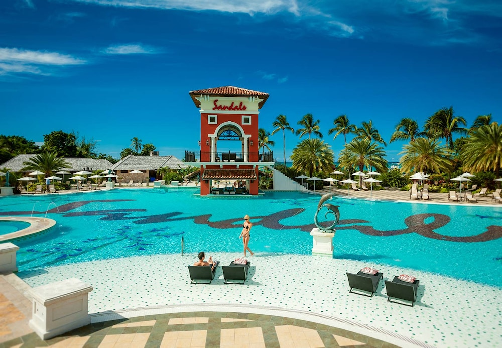 Pool, Sandals Grande Antigua - ALL INCLUSIVE Couples Only