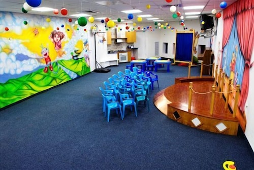 Children's Play Area - Indoor, Neptune Eilat