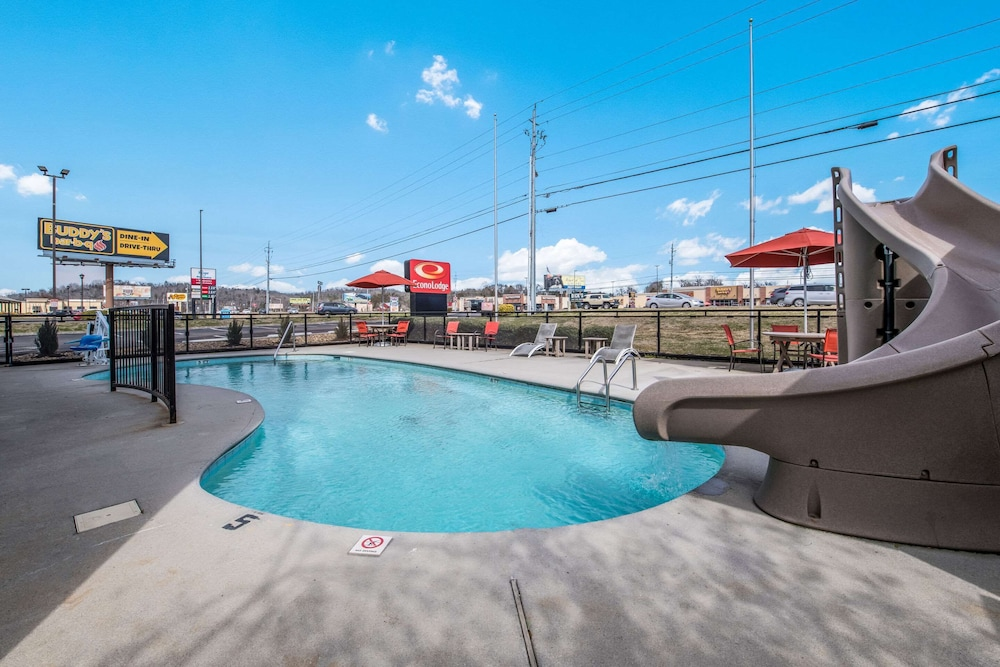 Pool, Econo Lodge Sevierville