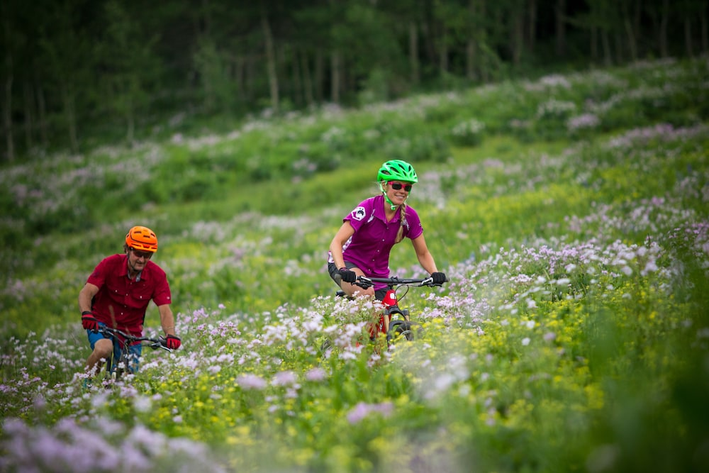 Bicycling, Teewinot Lodge by Grand Targhee Resort