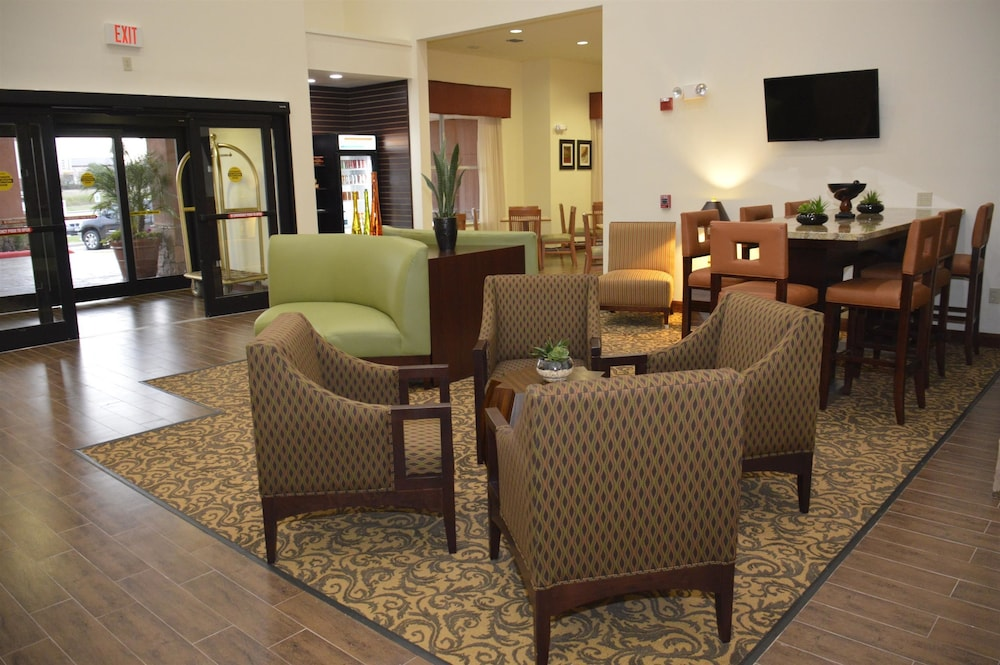 Best Western Plus Hobby Airport Inn Suites 2 5 Out Of 0 Exterior Featured Image Lobby