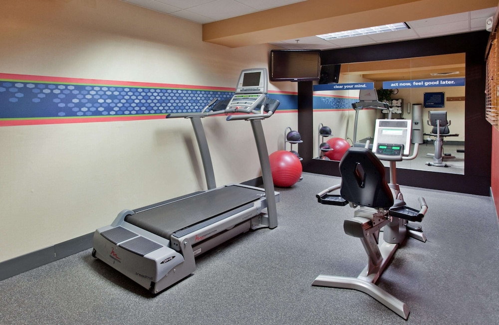 Fitness Facility, Hampton Inn Deadwood at Tin Lizzie Gaming Resort, SD