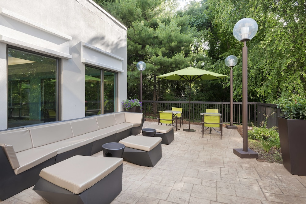 Terrace/Patio, SpringHill Suites by Marriott Asheville