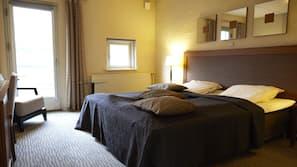 1 slaapkamer, luxe beddengoed, individueel gedecoreerd