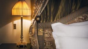 Draps en coton égyptien, literie de qualité supérieure, minibar