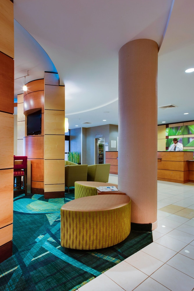 Lobby, SpringHill Suites by Marriott Savannah I-95