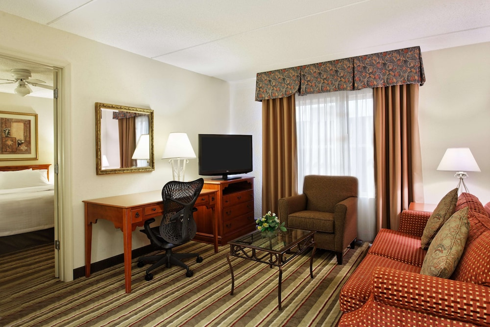 Living Area, Homewood Suites by Hilton Richmond - Airport