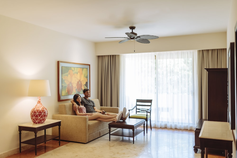 Living Area, Occidental at Xcaret Destination - All Inclusive