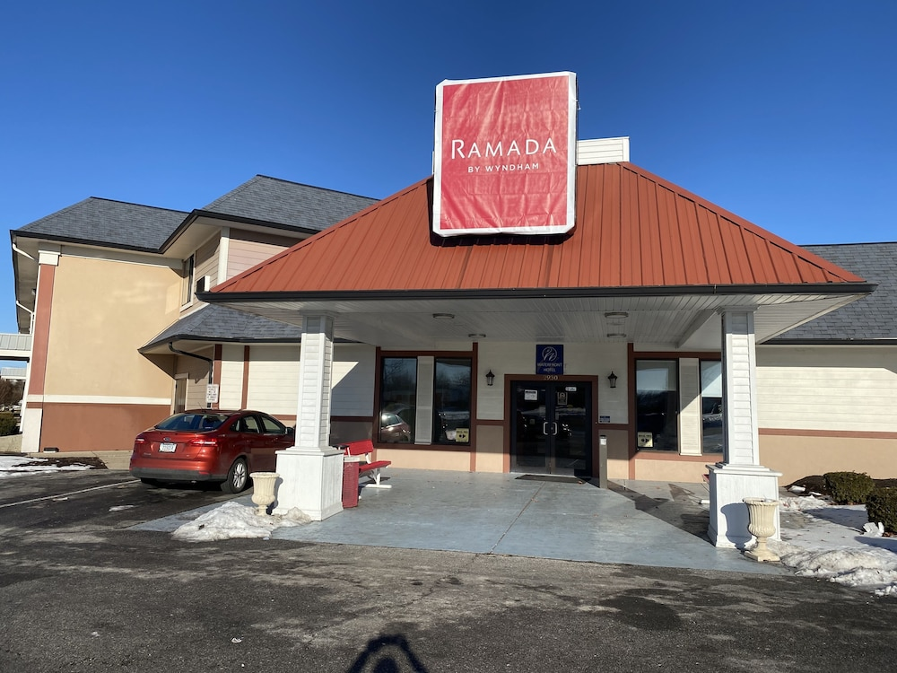 Front of Property, Ramada by Wyndham Indianapolis Speedway