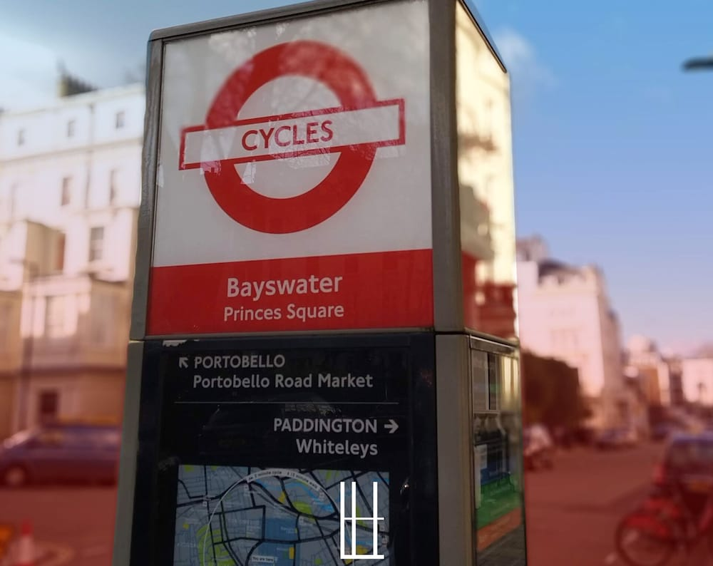 Bicycling, London House Hotel