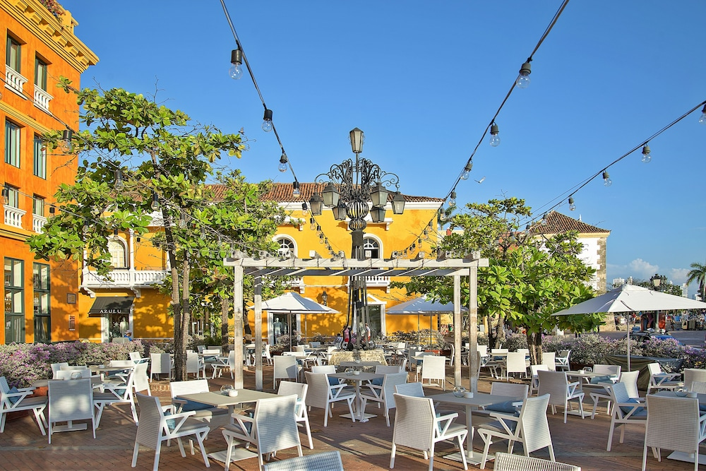 Outdoor Banquet Area, Charleston Santa Teresa Cartagena