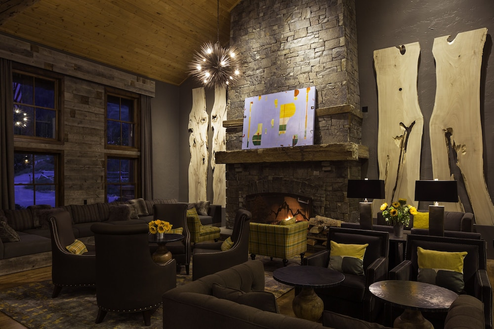 Fireplace, Teton Mountain Lodge and Spa - A Noble House Resort