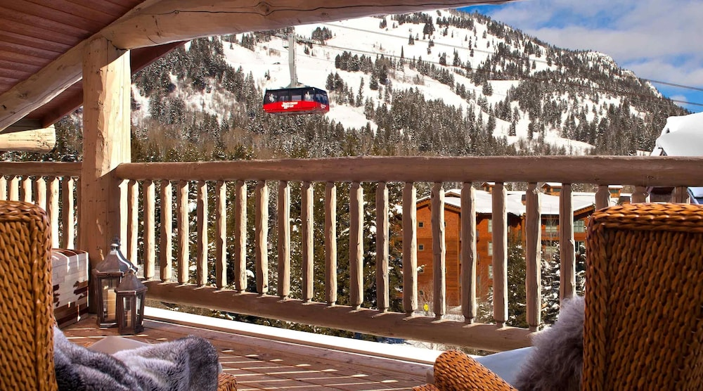 Balcony, Teton Mountain Lodge and Spa - A Noble House Resort
