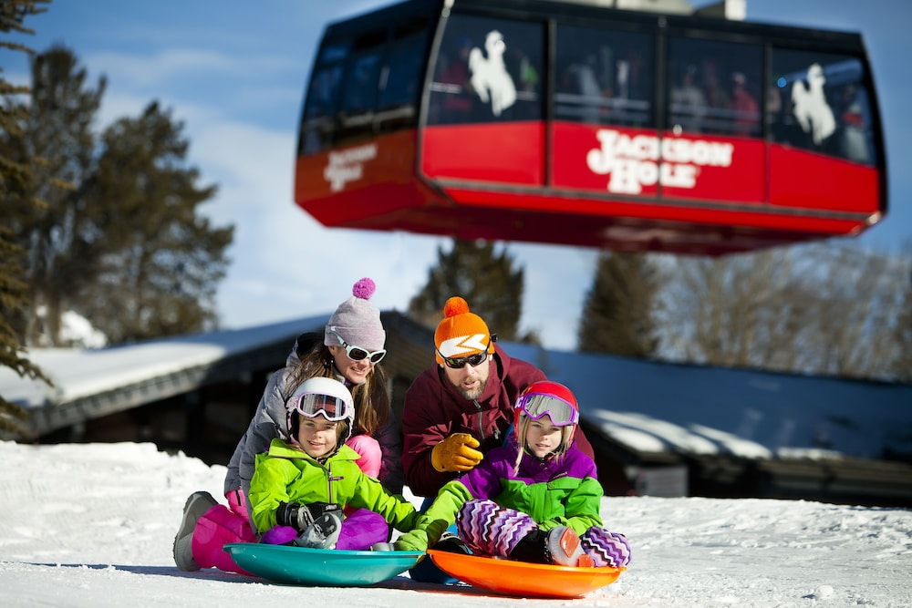 Sledding, Teton Mountain Lodge and Spa - A Noble House Resort