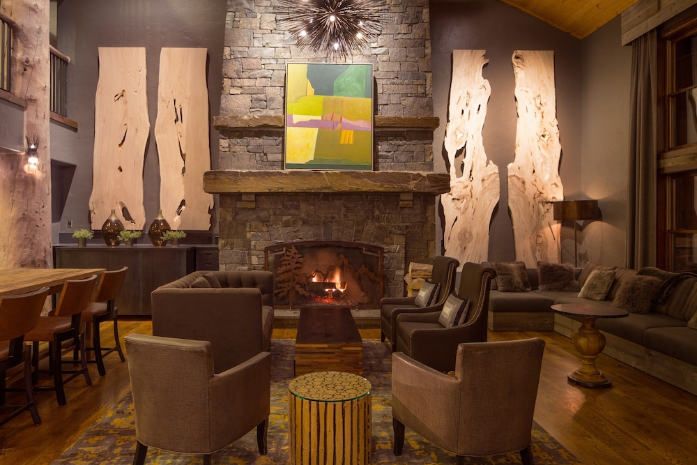 Lobby Sitting Area, Teton Mountain Lodge and Spa - A Noble House Resort