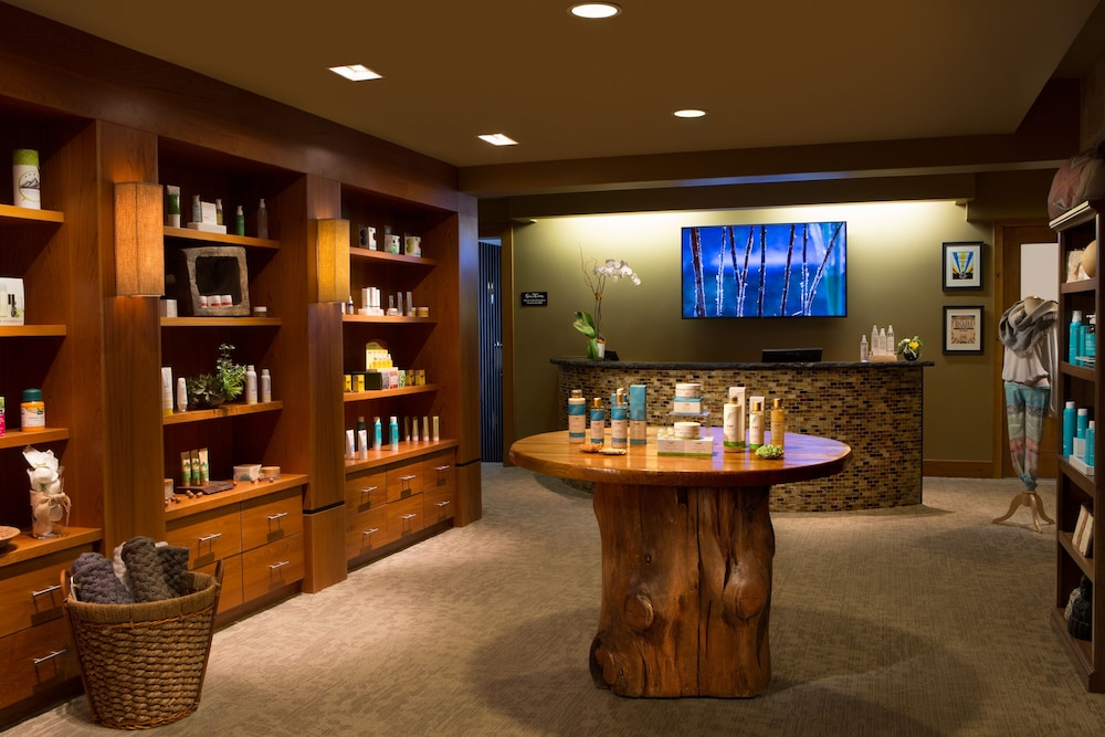 Spa Reception, Teton Mountain Lodge and Spa - A Noble House Resort