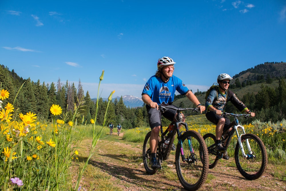Bicycling, Teton Mountain Lodge and Spa - A Noble House Resort