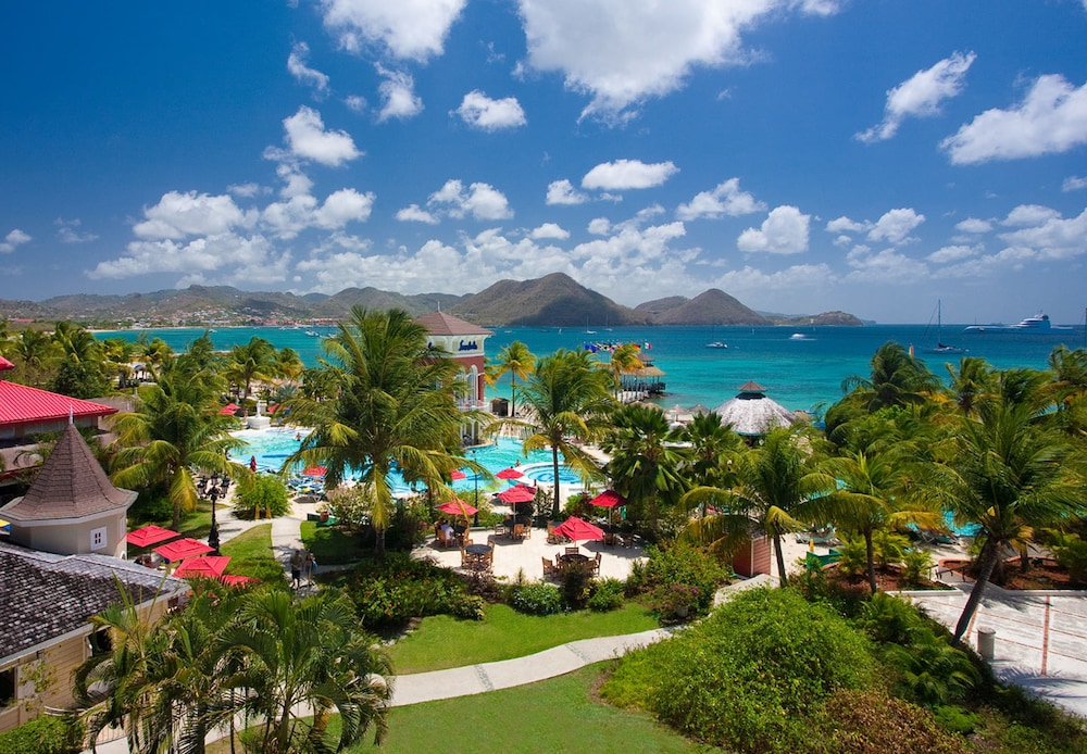 Aerial View, Sandals Grande St. Lucian - ALL INCLUSIVE Couples Only