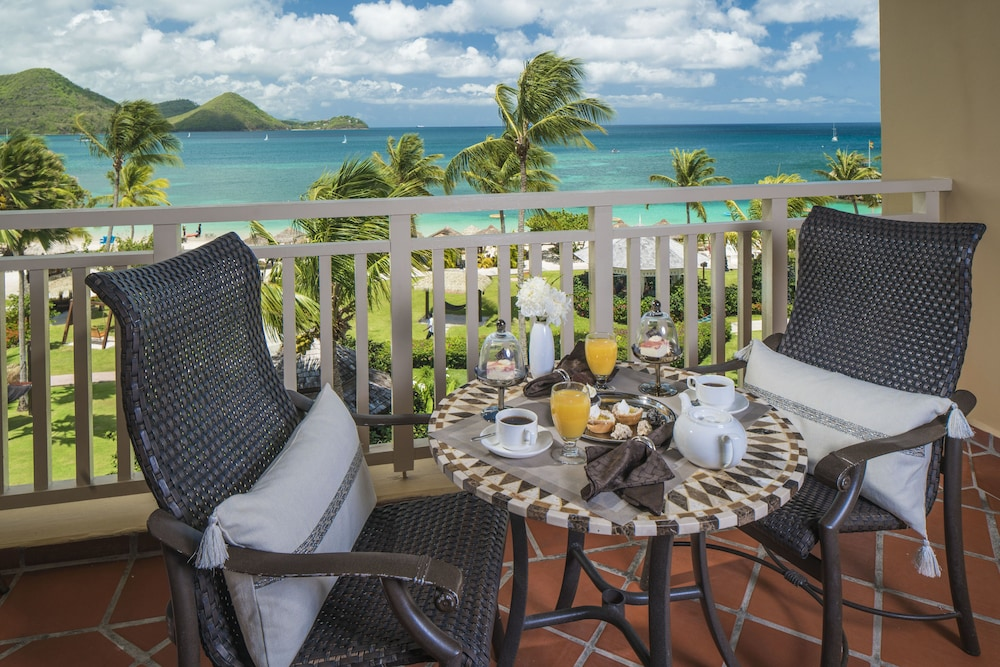 View from Room, Sandals Grande St. Lucian - ALL INCLUSIVE Couples Only