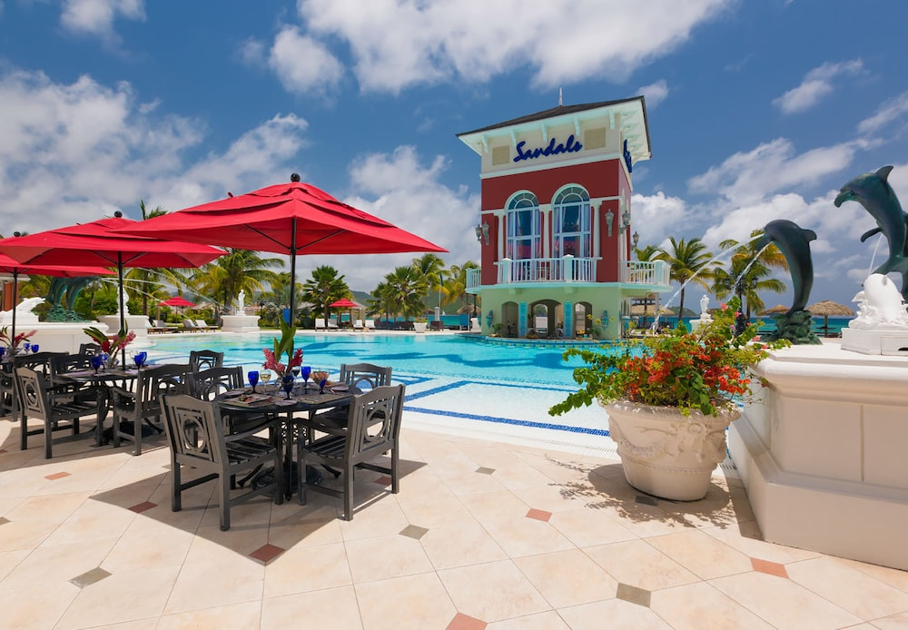 Pool, Sandals Grande St. Lucian - ALL INCLUSIVE Couples Only
