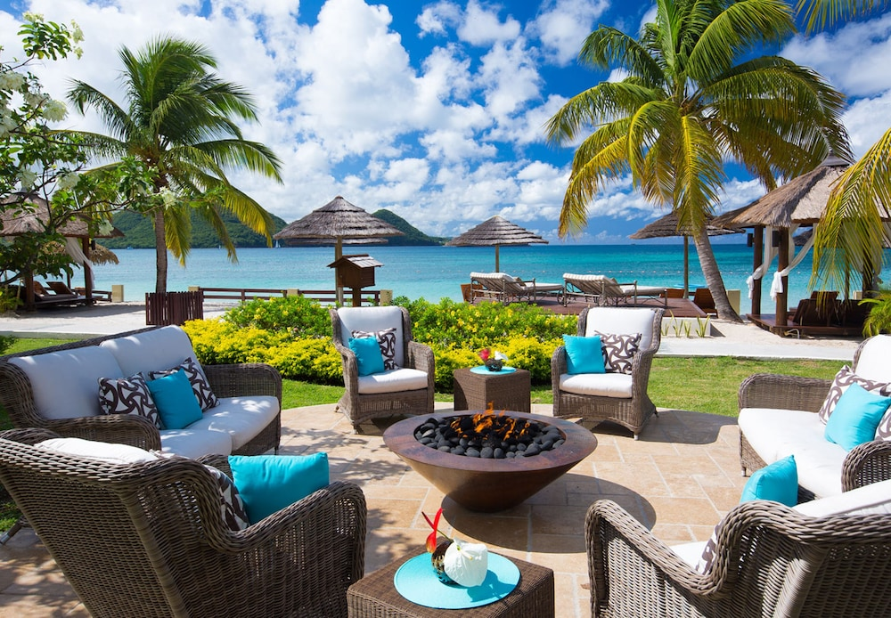 Terrace/Patio, Sandals Grande St. Lucian - ALL INCLUSIVE Couples Only