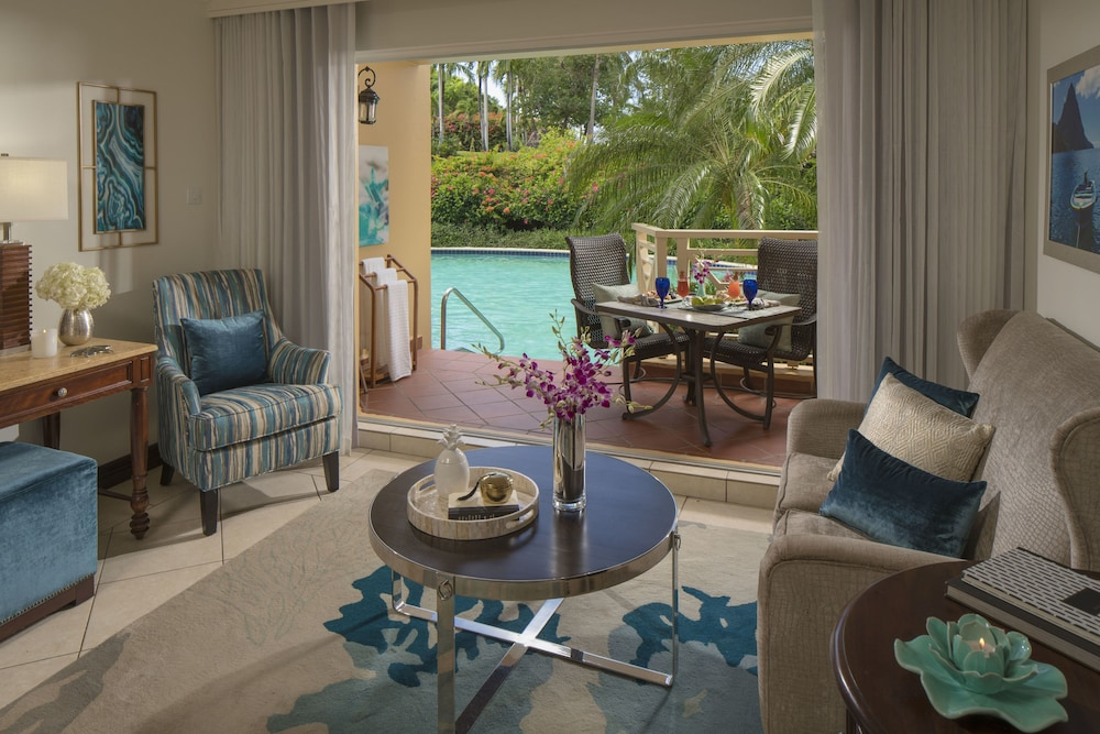 Living Room, Sandals Grande St. Lucian - ALL INCLUSIVE Couples Only