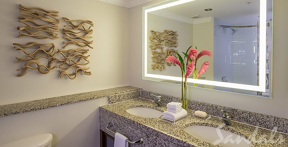 Bathroom, Sandals Grande St. Lucian - ALL INCLUSIVE Couples Only