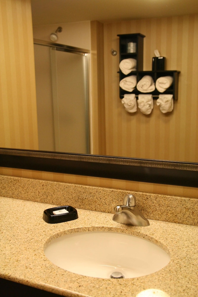 Bathroom, Hampton Inn Pensacola Airport