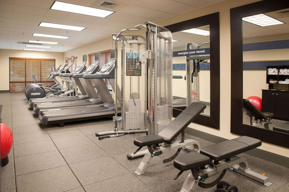 Fitness Facility, Hampton Inn Pensacola Airport