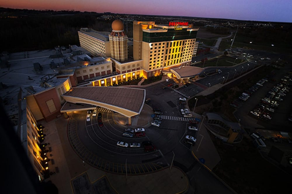 Aerial View, Hollywood Casino & Hotel St. Louis